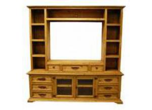 Million Dollar Rustic Entertainment Center