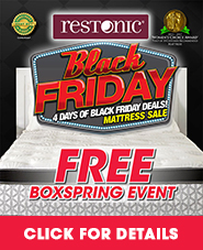 Restonic Black Friday Deals