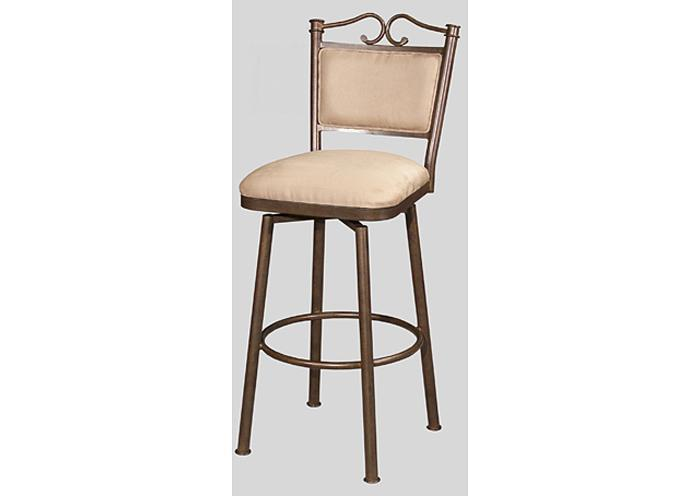Mr Bar Stool Tuscany Counter Height Swivel Stool