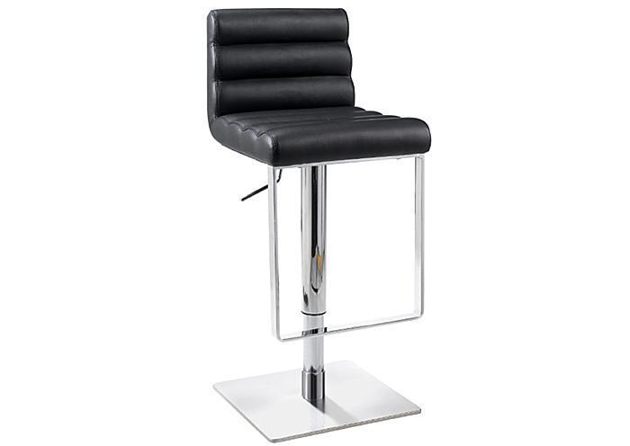 Rolled Seat Hydraulic Stool Black,Mr Bar Stool