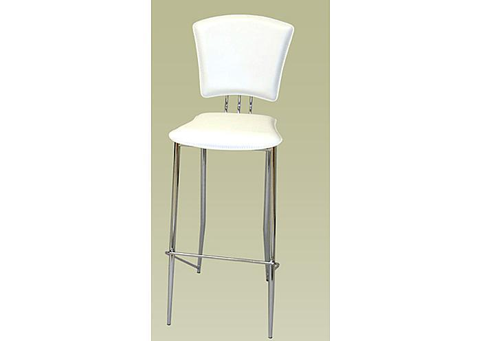 Mr Bar Stool Tracy Counter Height White Stool Set Of 2