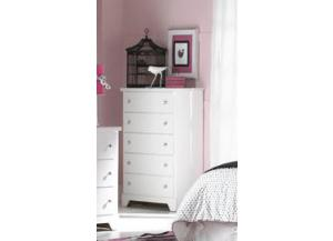 Marilyn White 5-Drawer Chest