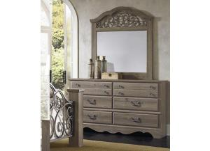 Timber Creek Dresser and Mirror