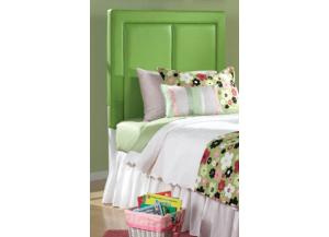 Chelsea Twin Green Panel Headboard