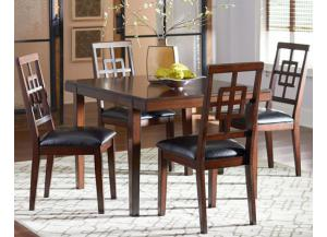 Ally Dining Table with 4 Chairs
