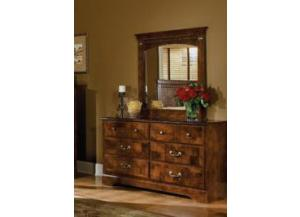 San Miguel Dresser and Mirror