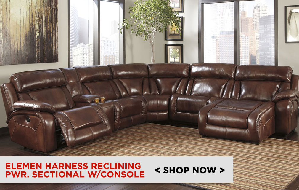 Elemen Harness Reclining Sectional