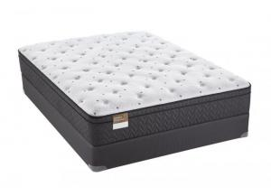 Sealy Beauvior Plush Eurotop King Mattress Set