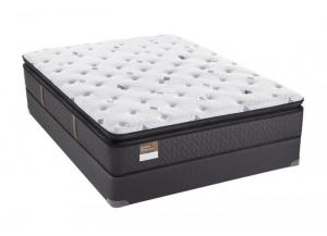 Sealy Gilded Breath Plush Pillowtop King Mattress Set