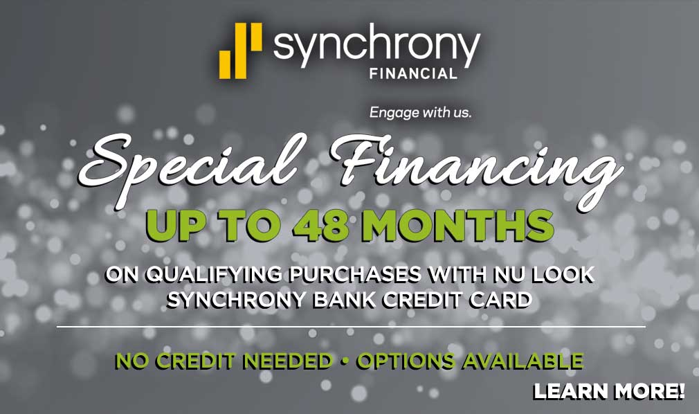 Special Financing Up to 48 Months