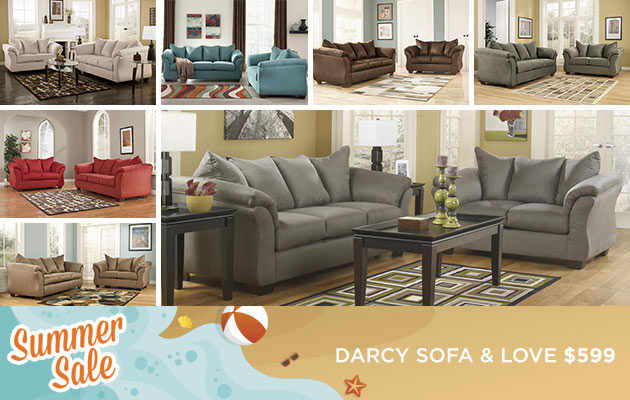 Darcy Sofa & Loveseat
