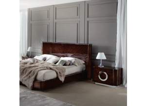 Torino Contemporary Styled King Size Platform Bed