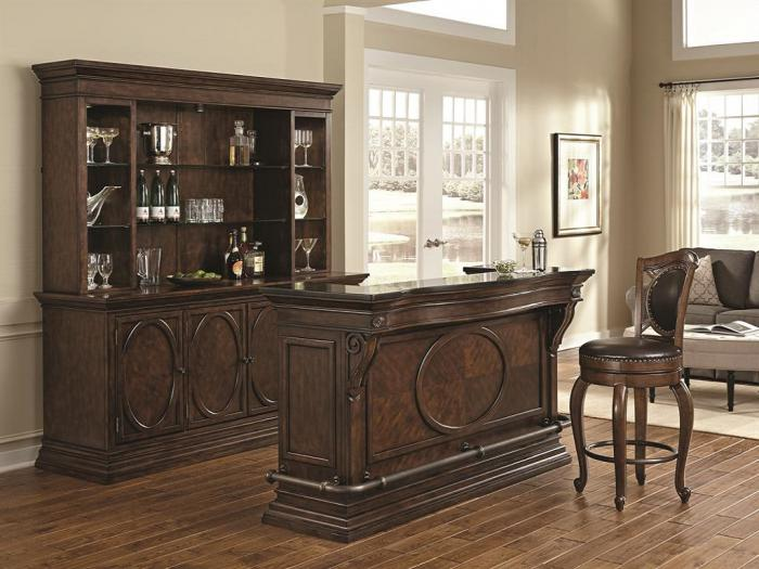 Marble Top Bar & Barstools,Orleans Showcase
