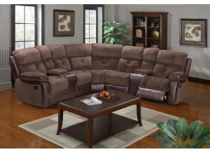3 PCS Reclining Sectional