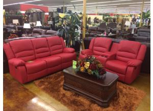 2-PC Reclining Sofa & Loveseat- LIMITED QUANTITY