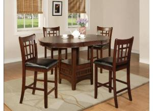 Oval Counter Height Table( With 18