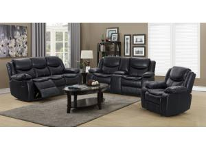 2 PC Reclining Sofa and Loveseat