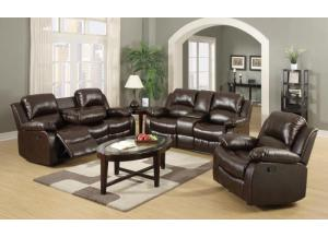3 PCS Reclining Living Room