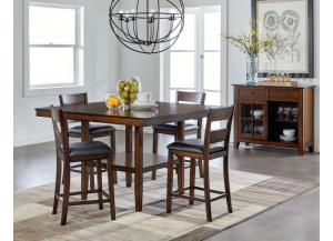 10036 5 Piece Counter-Height Dining Set