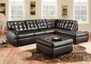 Soho Espresso Sectional