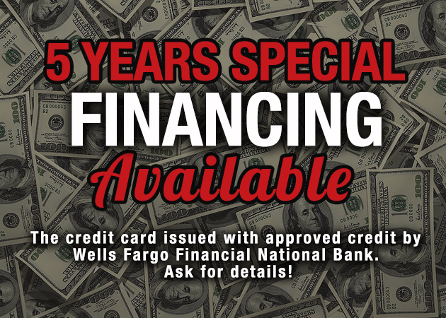 5 Years Financing Special at Overstock Furniture
