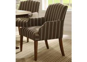 Euro Casual Oak Arm Chairs ( set of 2)