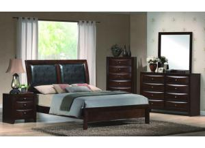 Emily King Panel Bed