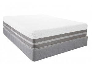 Yellowstone Gel Foam King Mattress Set w/Power Base,Southerland