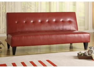 Adjustable Red Sofa
