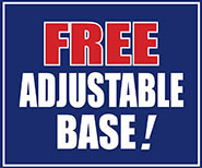 Free Adjustable Base