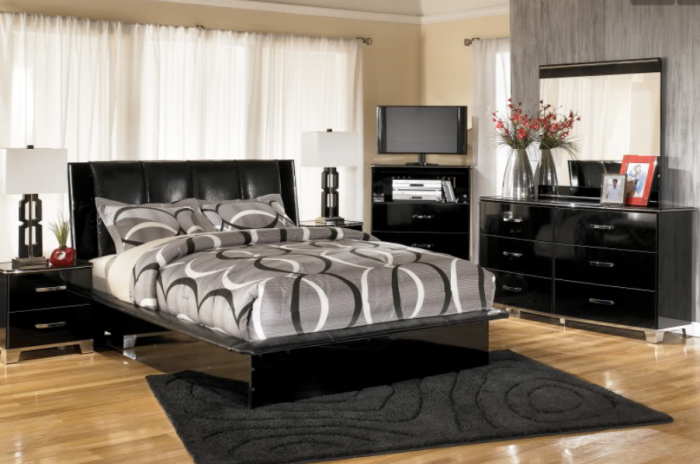 Atella Queen Platform Bed,Quality Furniture In-Store