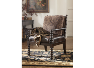 Key Town-Truffle Accent Chair