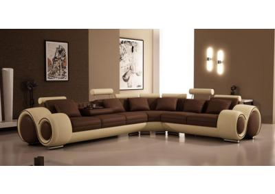Modern Bonded Leather Sectional,Quality Furniture In-Store