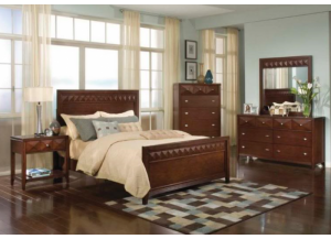 Reflection King Panel Bed