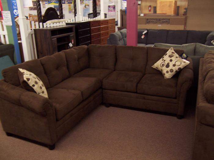 2pc Hughes Sectional,Ahner New Furniture