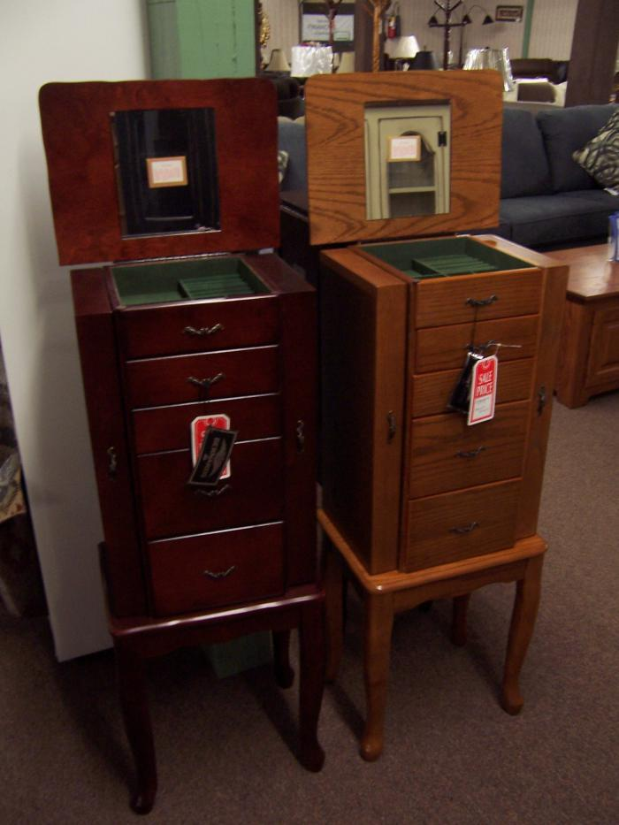 Jewelry Armoire,Ahner New Furniture