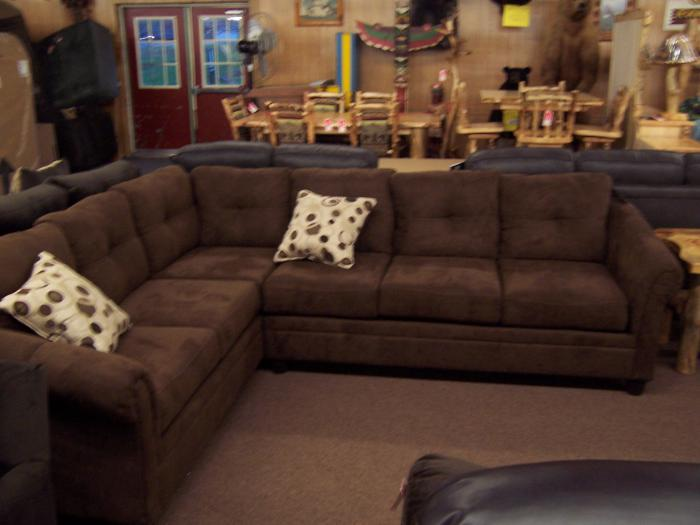 2 pc Sectional Hughs/Serta,Ahner New Furniture
