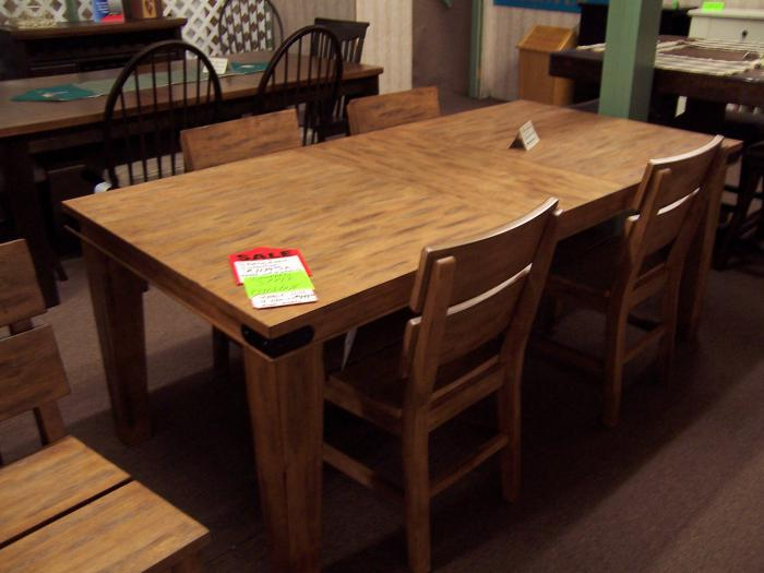 Shenandoa 5 Pc Dinette,Ahner New Furniture