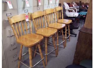 Set of 4 30 inch bar stools