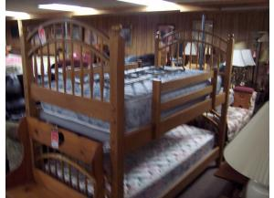 Complete set of Ethen Allen bunks W/ Mattresses