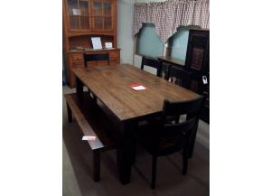 Amish made maple dining set