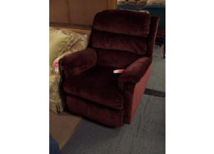 Preowned Burgandy Lift Chair