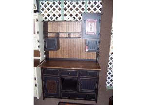 Amish made hutch