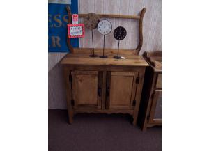 Amish made pine wash stand. Was $269.00
