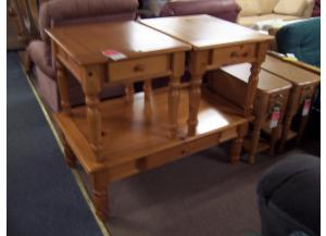 3 Pc Pine table set