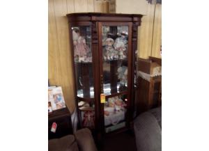 Polaski bowed glass curio Was $1198