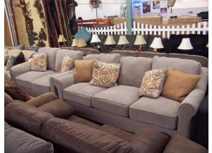 2 Pc Sofa and Love set