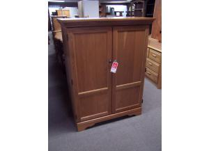 Preowned Oak armoire