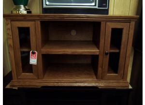 Oak Vaughan Bassett TV Stand. Was $509