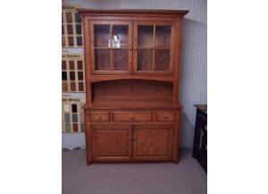 Amish Made Solid Oak Hutch